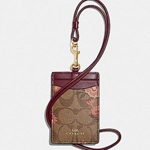 COACH LANYARD/ ID HOLDER